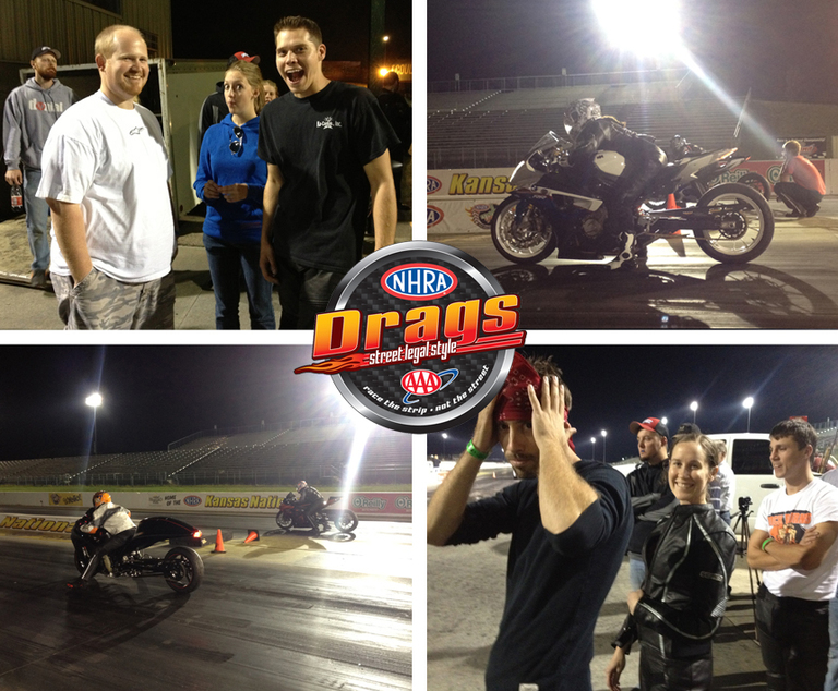 NHRA Drags Street Legal Style