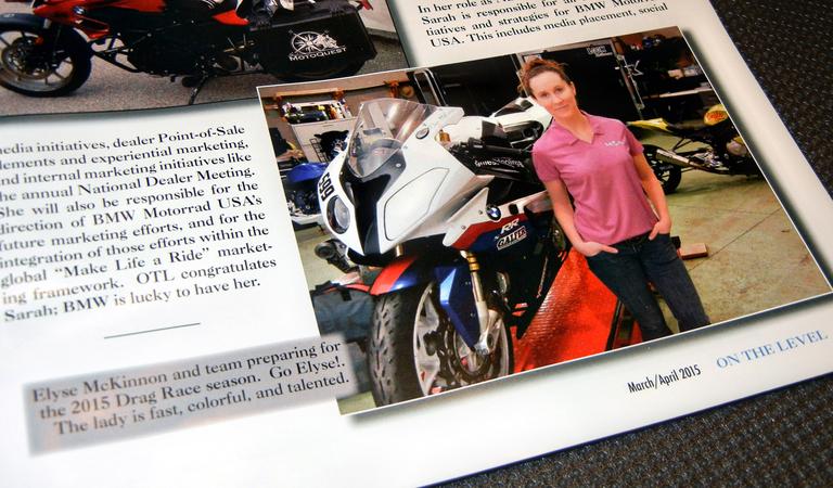 ON THE LEVEL BMW Magazine
