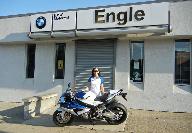 BMW S1000RR Rider Support